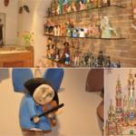Drewniane ręcznie tworzone anioły oraz szopki bożonarodzeniowe dobre na upominek